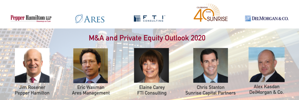 M&A and Private Equity Outlook 2020