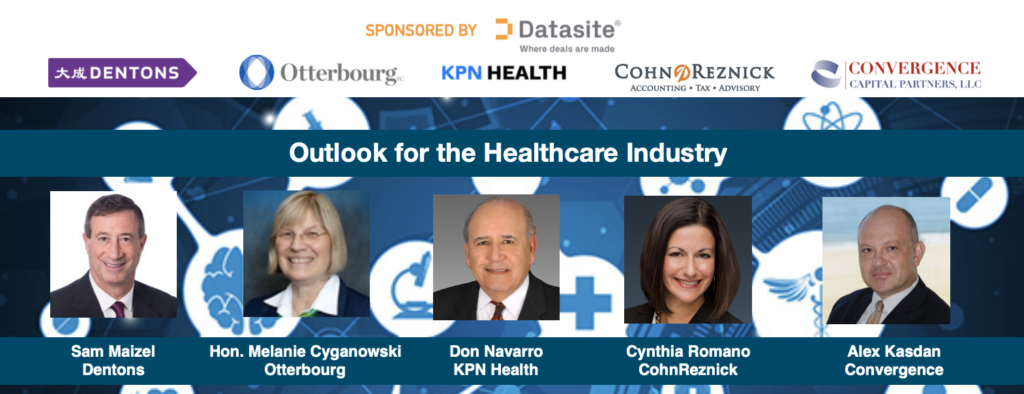 Expert Webcast Roundtable Healthcare Outlook